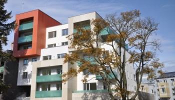 Bytový dům - fasáda SILBONIT Jihlava